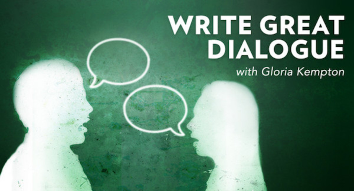 Dialogue can be one of the most interesting parts of a book to read, but only if it is done right. Sharpen your writing skills and challenge yourself to craft engaging, yet believable dialogue that will keep your readers interested with this online workshop.