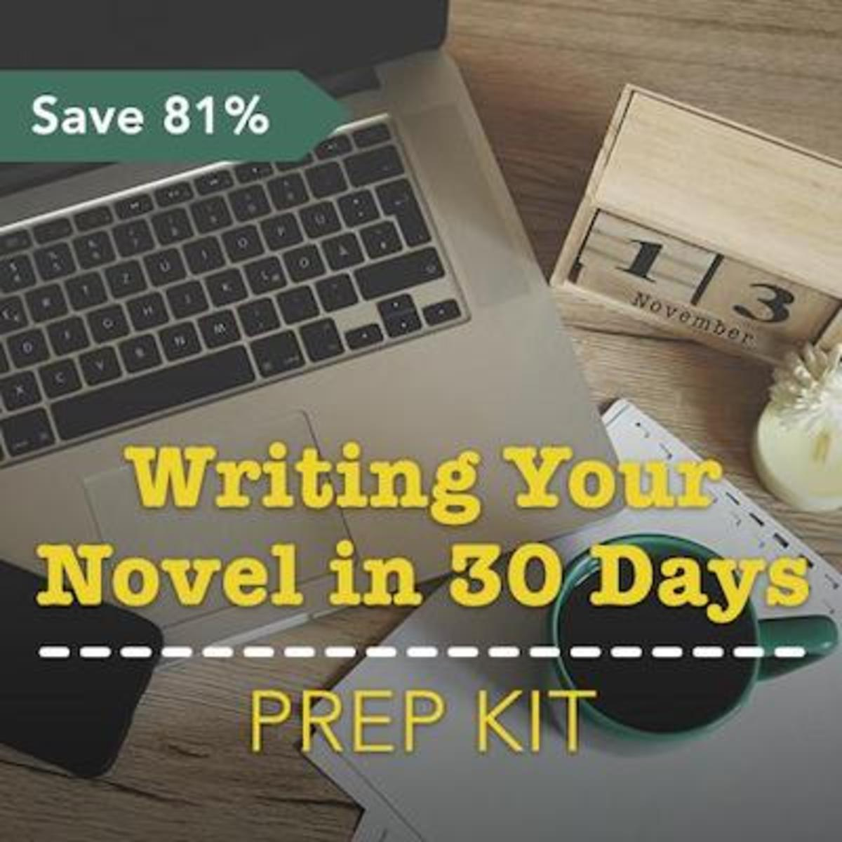 Are you ready to draft your novel in 30 days? Writer's Digest has you covered with a new kit that includes everything you need to prepare for your upcoming writing endeavors.