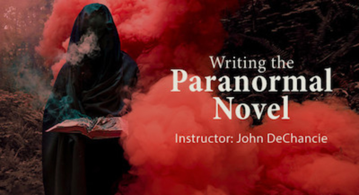 Create your own paranormal novel and explore the supernatural world of literature. When you take this online workshop, you will focus on how to write paranormal fiction.
