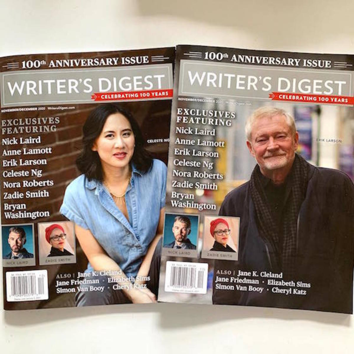 writers_digest_100th_anniversary_issue_both_covers