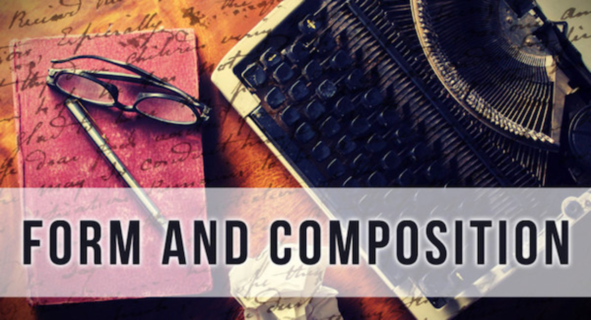 Proper grammar, punctuation, and mechanics make your writing correct. In order to truly write well, you must also master the art of form and composition. From sentence structure to polishing your prose, this workshop will enhance your writing, no matter what type of writing you do.