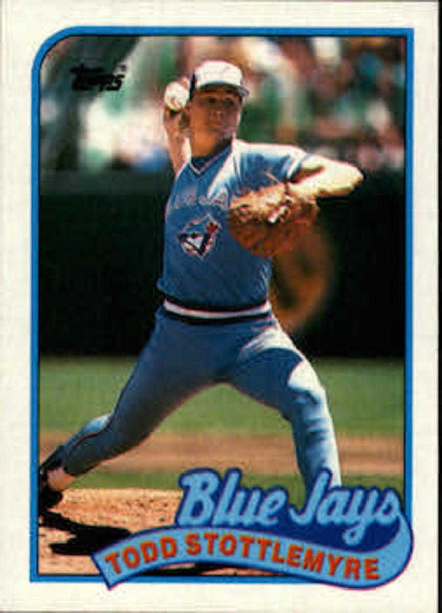Todd Stottlemyre Baseball Card