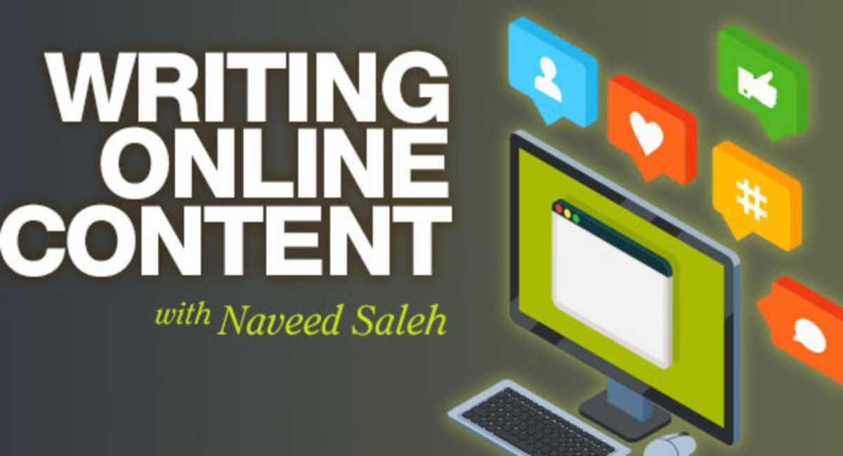 Writing Online Content with Naveed Saleh