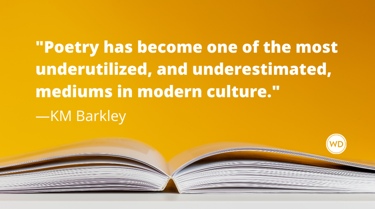 8 Reasons Why Poetry Is Good for the Soul, by KM Barkley