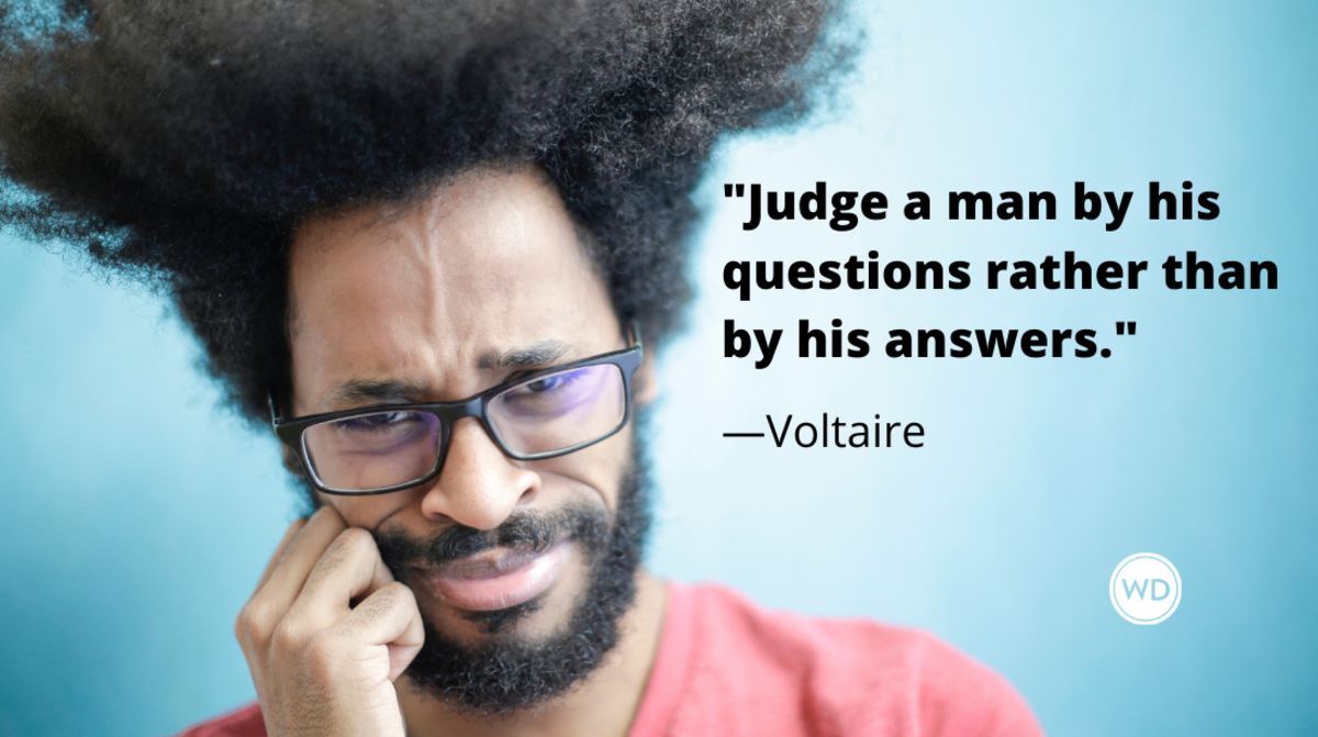 Voltaire Quotes | Judge a man by his questions rather than by his answers.