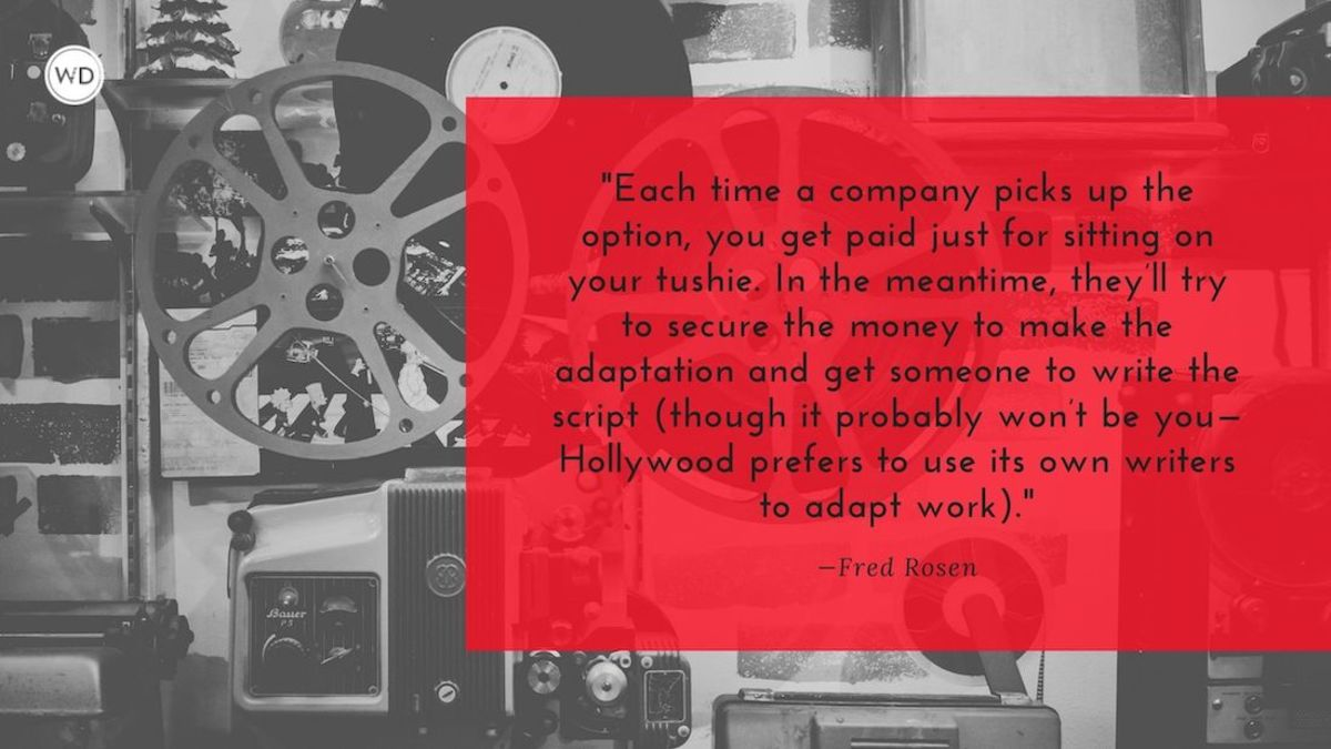 Selling Your Book's Movie and TV Rights: What You Need to Know