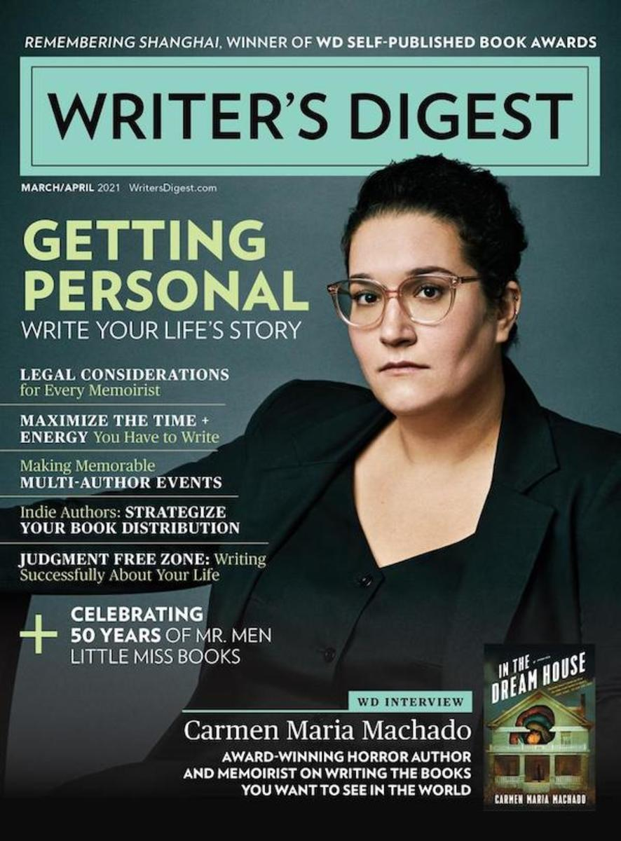 March/April 2021 Writer's Digest Cover
