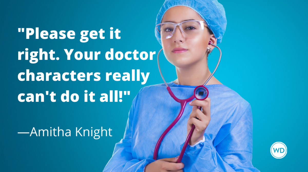 How to Write a Hospital Scene in Your Novel, by Amitha Knight