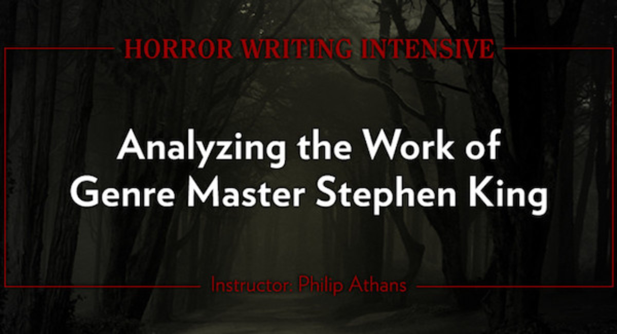 Horror Writing Intensive: Analyzing the Work of Genre Master Stephen King