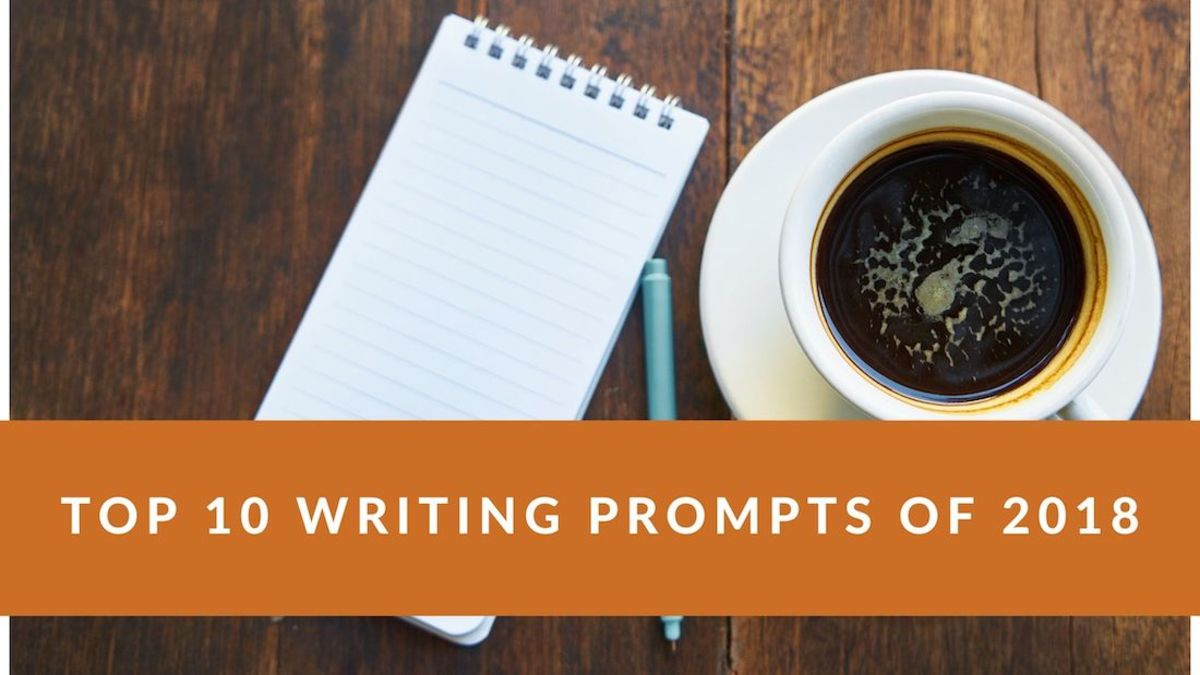 Top 10 Writing Prompts of 2018