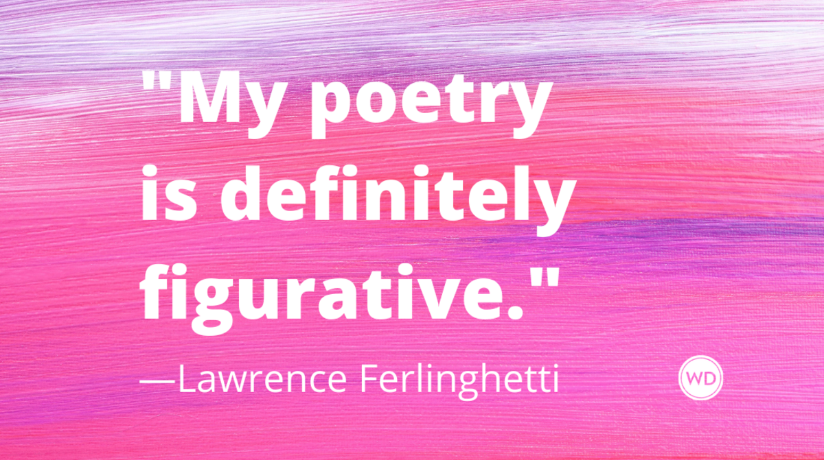 Lawrence Ferlinghetti quotes | My poetry is definitely figurative