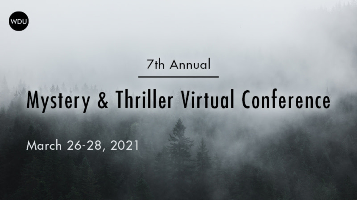 Mystery & Thriller Virtual Conference | 3/26-28, 2021