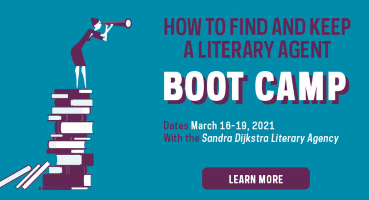 How to Find and Keep a Literary Agent Boot Camp | 3/16-19, 2021
