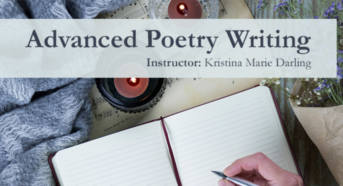 Advanced Poetry Writing course with Kristina Marie Darling