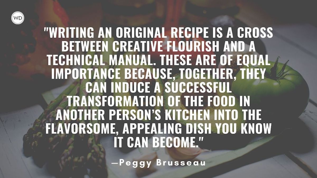 Eat Your Words: Your 8-Point Checklist for Writing Original Recipes