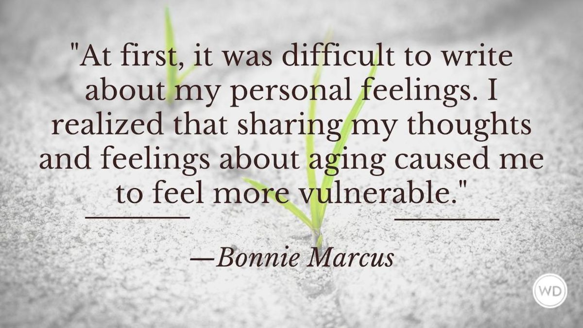 Bonnie Marcus: On Being Vulnerable in Nonfiction