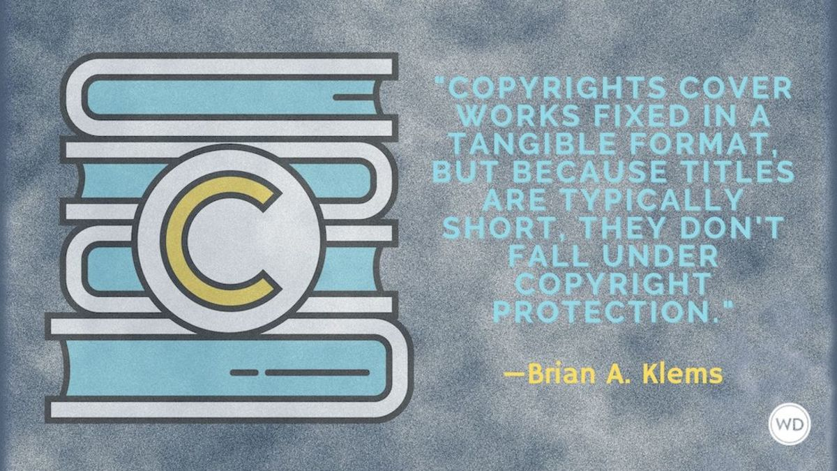 Can You Copyright a Title?