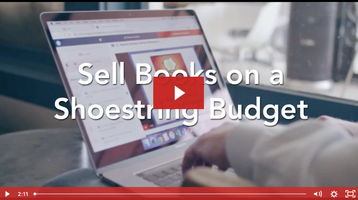 Sell Books on a Shoestring Budget