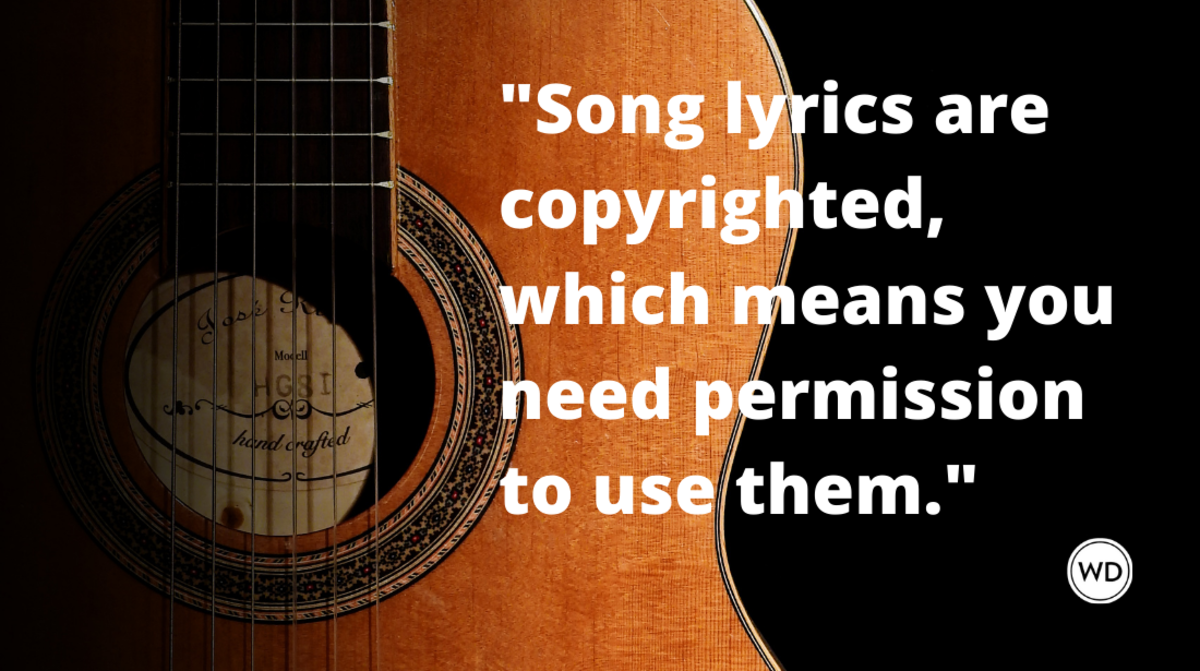 Can I Use Song Lyrics in my Manuscript?