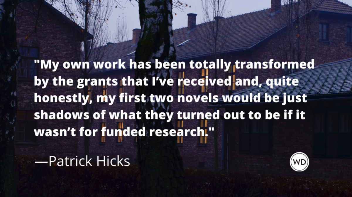 How Grant Money Funded the Research and Writing of My First Two Novels