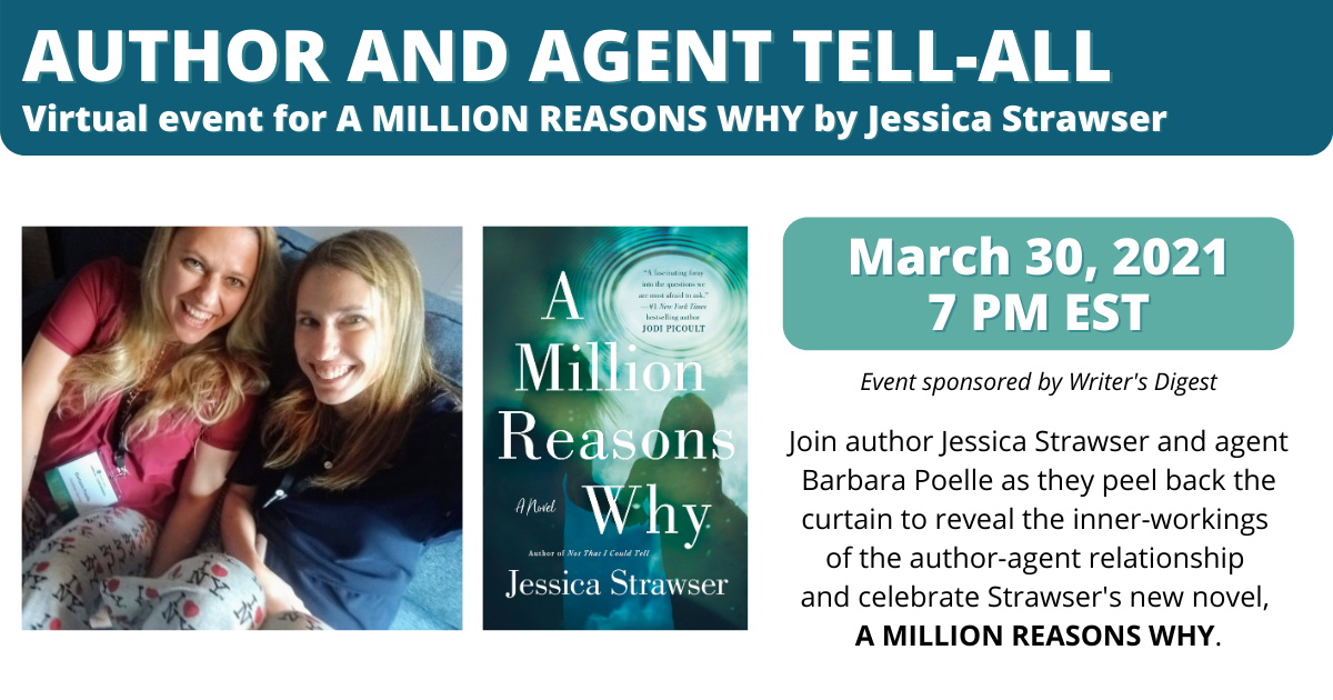 Jessica Strawser   A Million Reasons Why Book Launch Event
