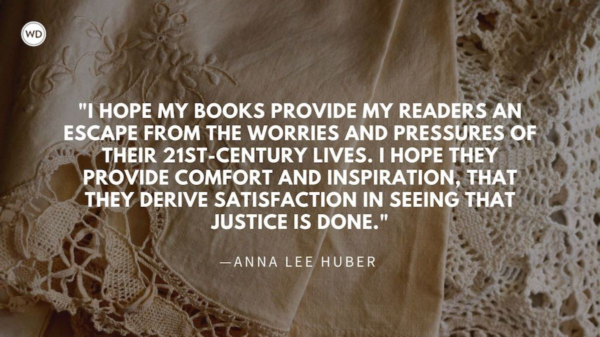 Anna Lee Huber: On Escapism and Historical Fiction
