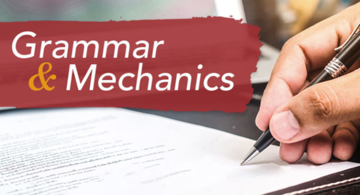 No matter what type of writing you do, mastering the fundamentals of grammar and mechanics is an important first step to having a successful writing career.