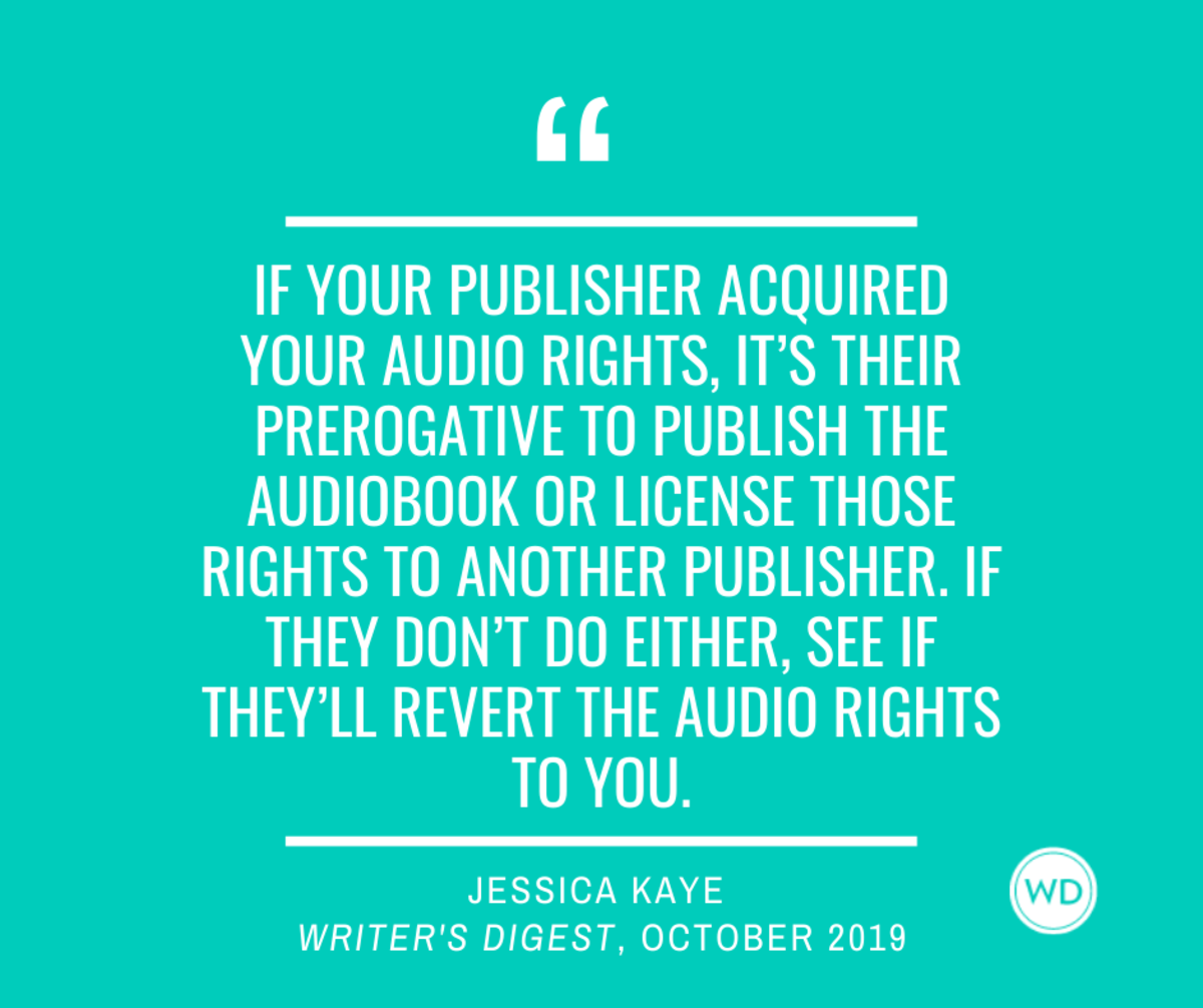 Film, TV, and Audiobook rights