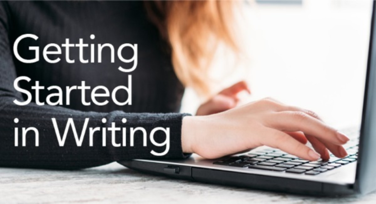 Getting Started in Writing