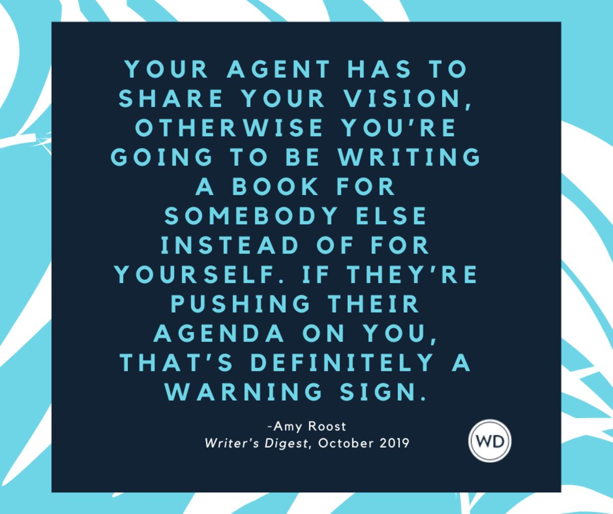 literary agent advice