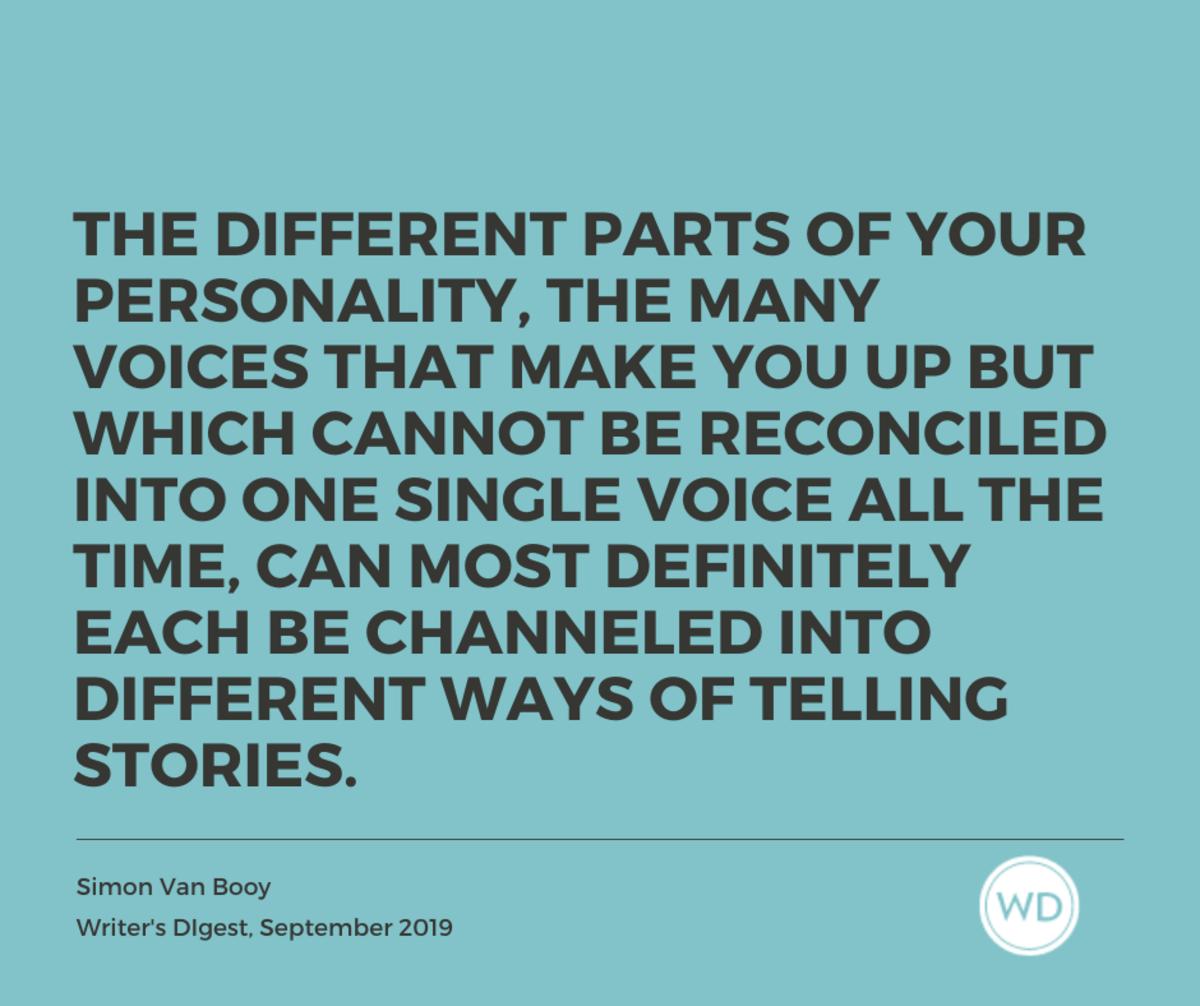 Multigenre writing - Simon Van Booy