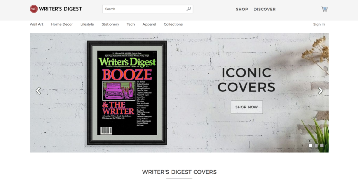Writer's Digest Cover