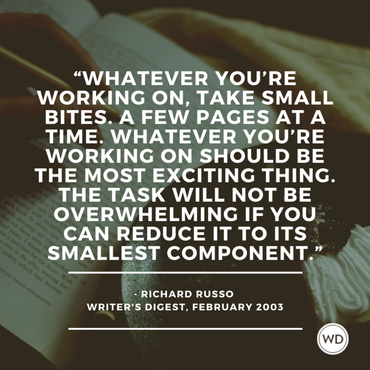 Richard Russo quote