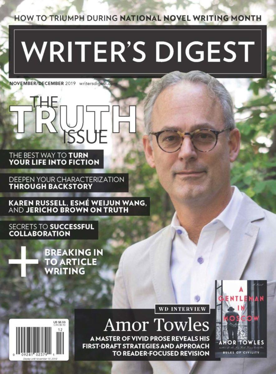 Writer's Digest November/December 2019 issue