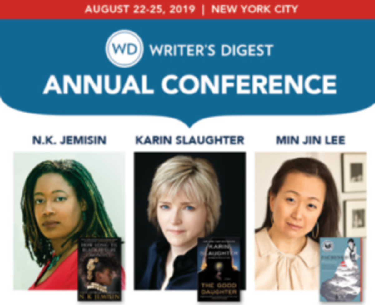 Don't miss out on writing wisdom from these speakers and more at this year's WD Annual Conference.