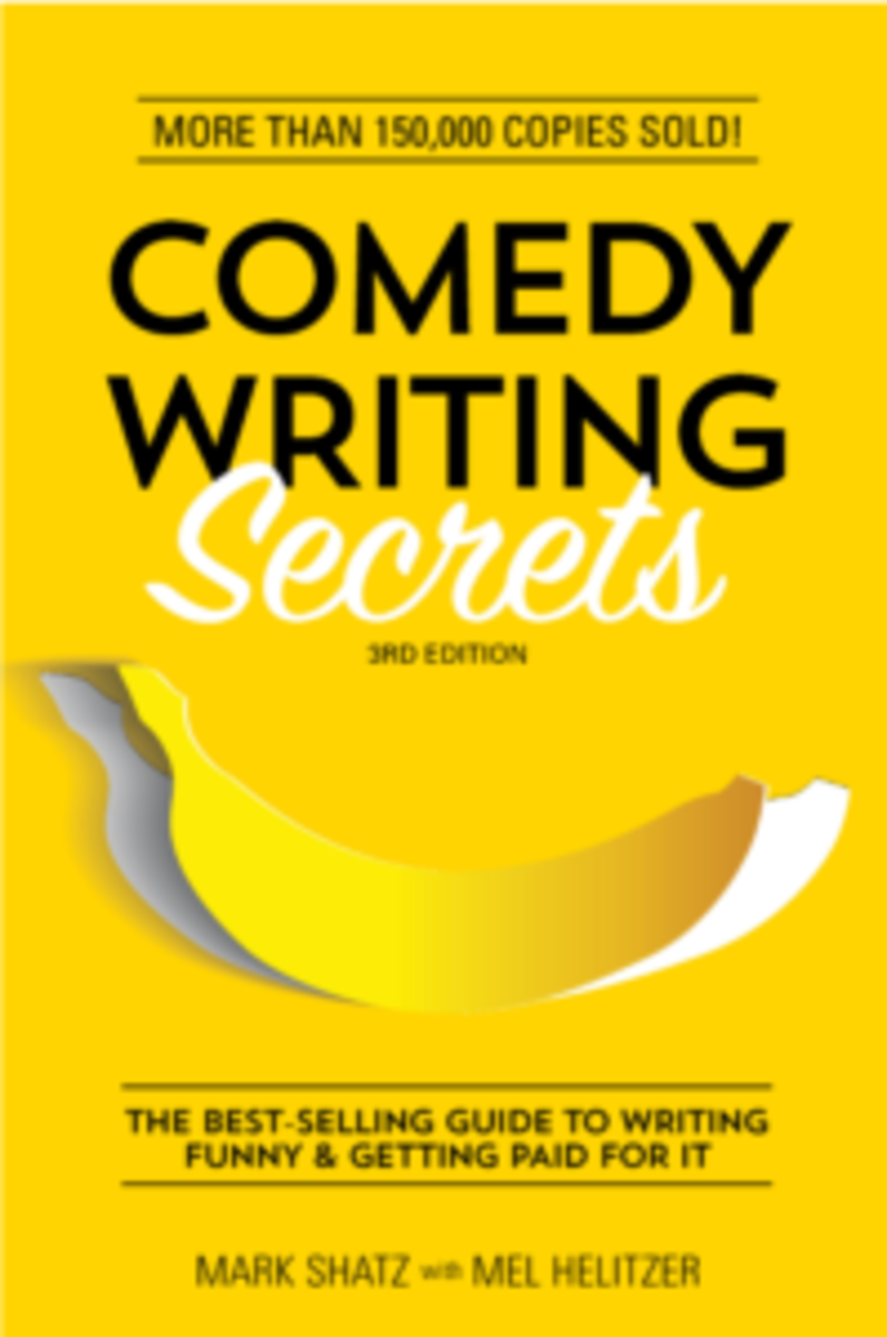 Check out this title from WD Books for more comedy writing secrets.