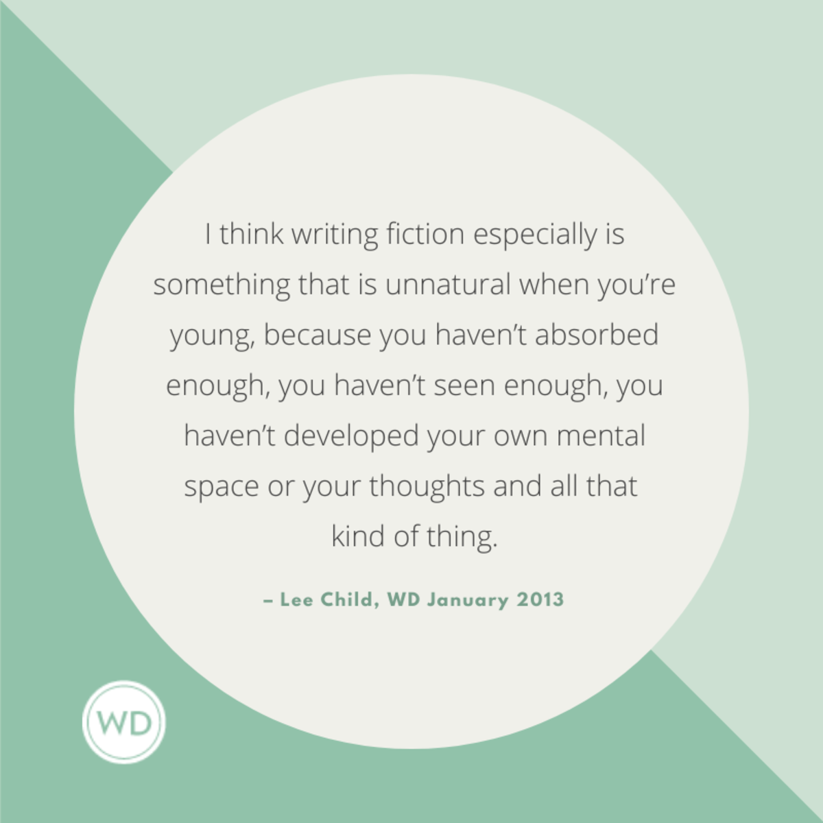 Lee Child quotes about writing