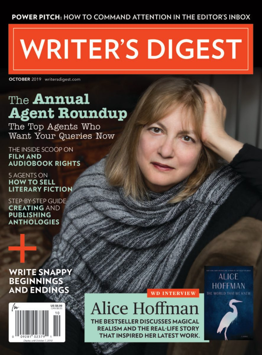 Writer's Digest magazine October 2019