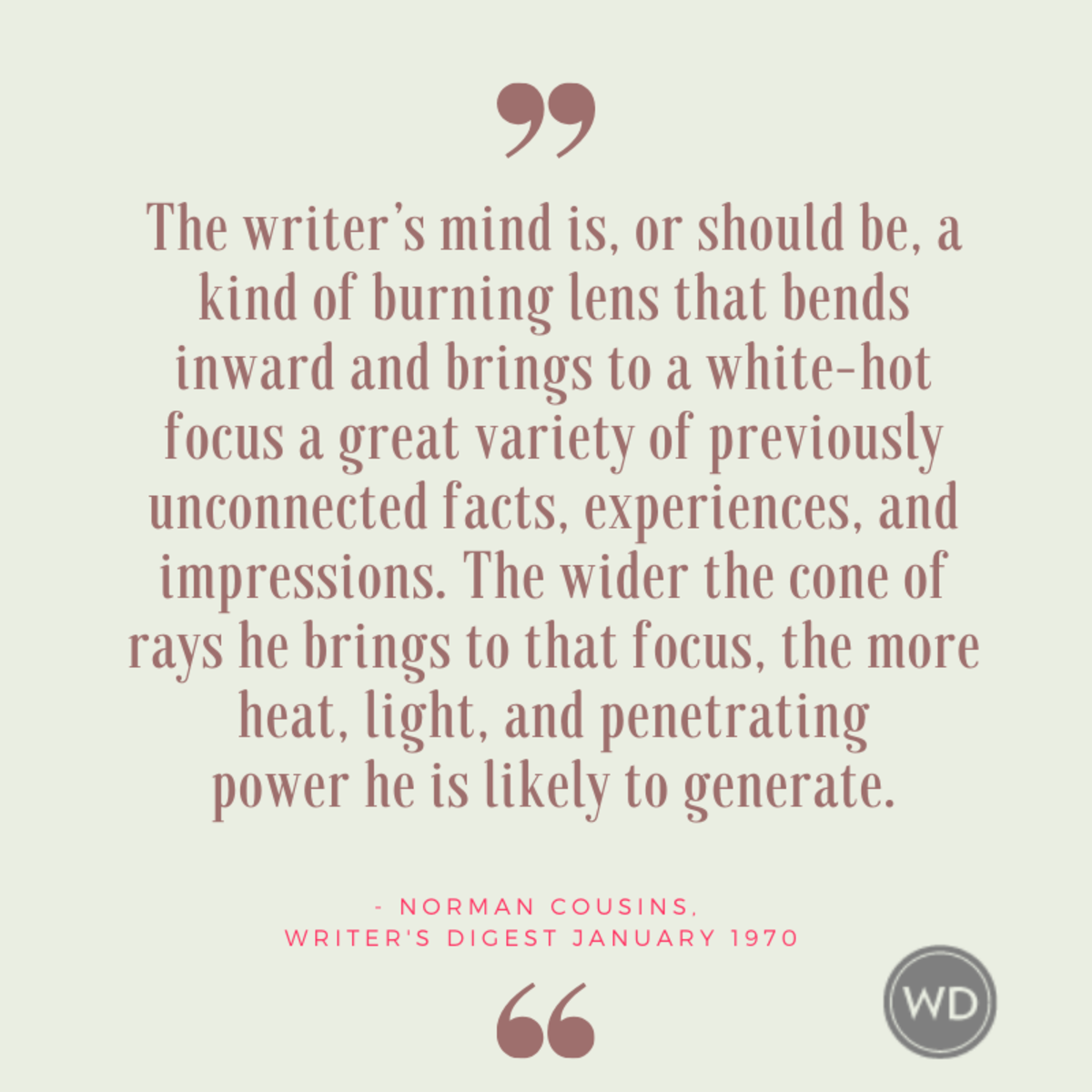 writer's social responsibility