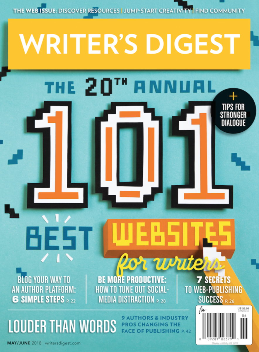 Writer's Digest May/June 2018 | Subscribe Today