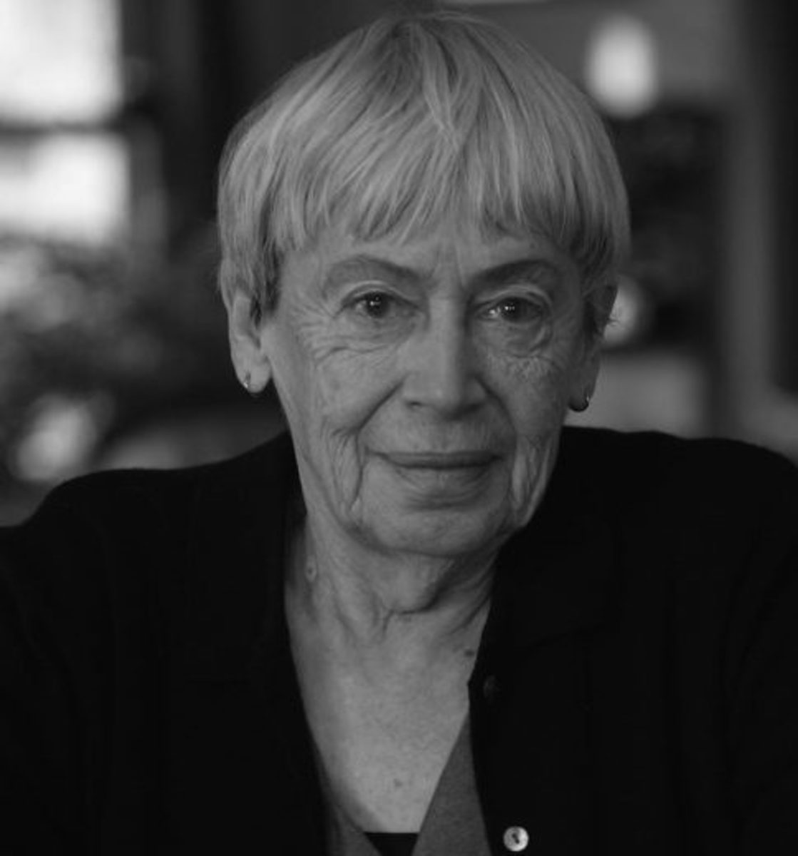 Ursula Le Guin at home in Portland, Origon, California December 15 2005. (Photo by Dan Tuffs/Getty Images)