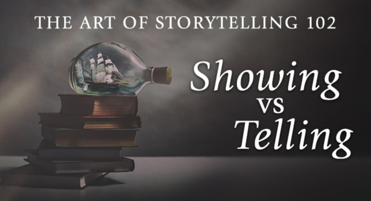 In this course, you'll learn the difference between showing and telling and when it's good to tell instead of show, how to balance showing and telling to create memorable characters and realistic, seamless dialogue, how the right mix of showing and telling can help you establish a powerful narrative voice, and much more!