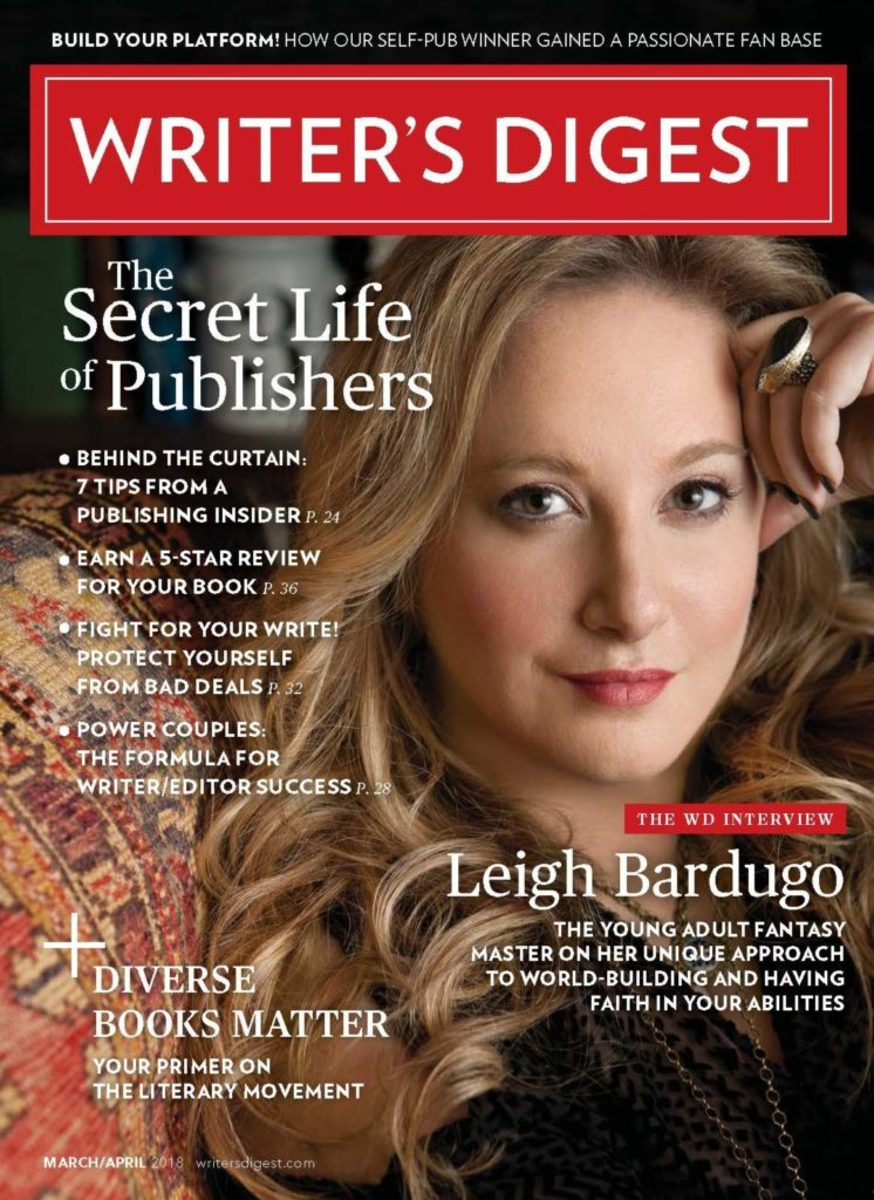 Writer's Digest March/April 2018 Cover