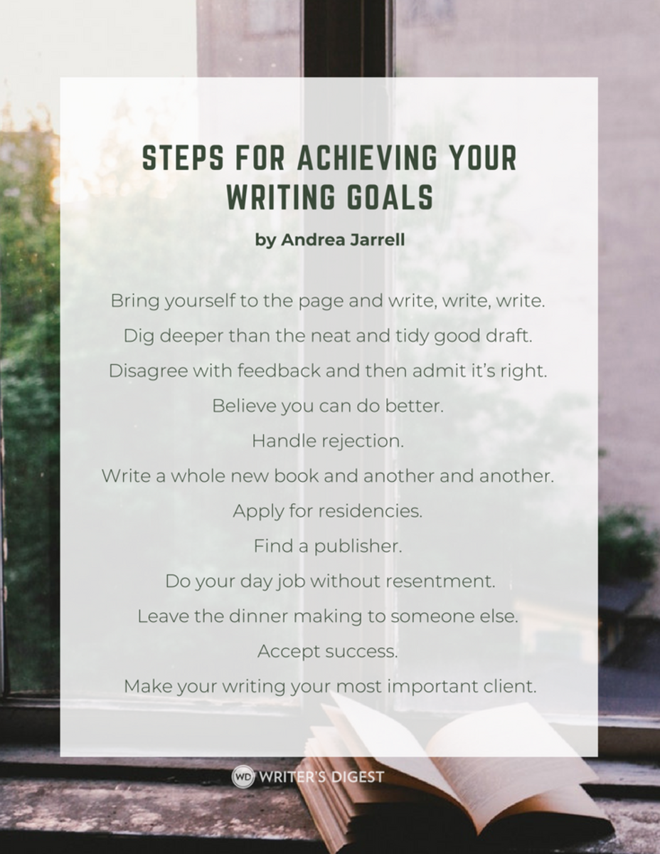 Steps for Achieving Your Writing Goals