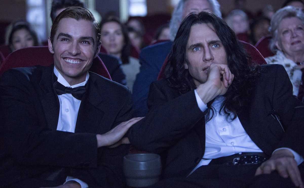 Dave and James Franco, THE DISASTER ARTIST. Photo by Justina Mintz, courtesy of A24.