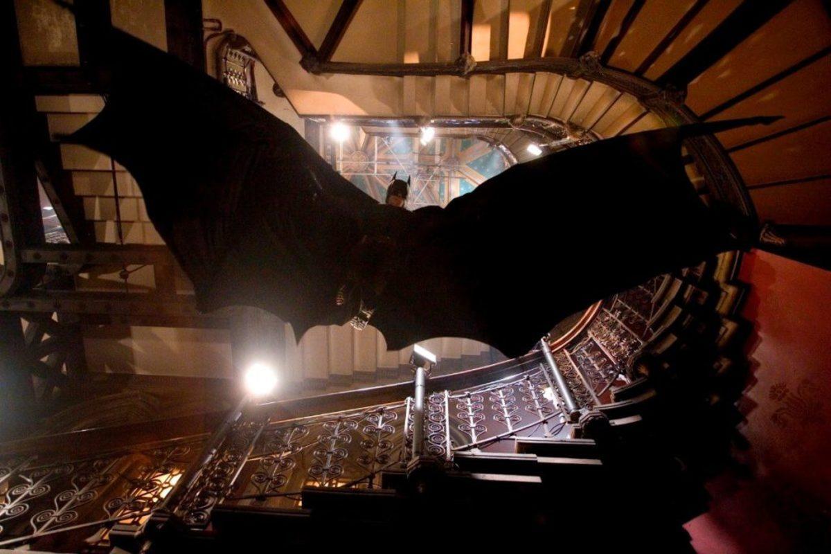 Christian Bale stars as Batman, the caped crusader of Gotham City, in 'Batman Begins.'