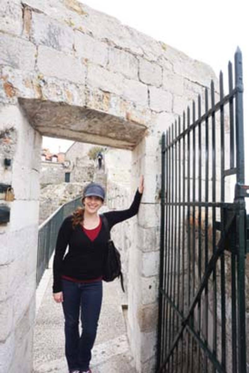 All smiles in Dubrovnik, Croatia, Gigi Griffis loves how traveling gives her new points of view.