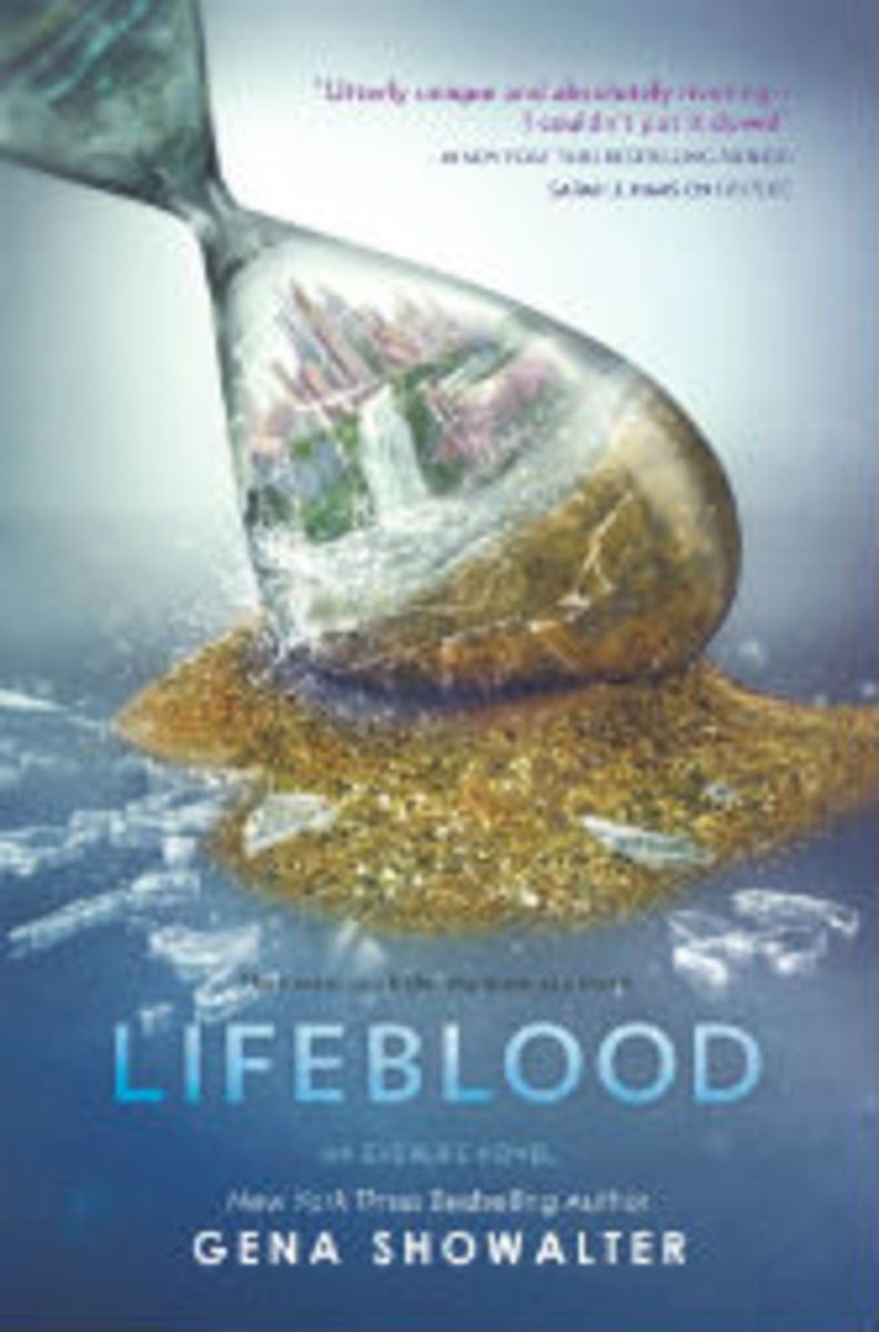 gena showalter lifeblood novel