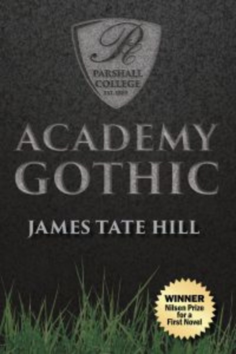 academy gothic, james tate hill
