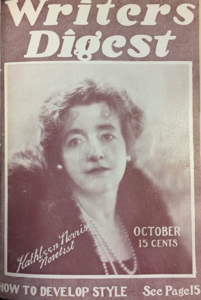 The cover of the October 1922 Writer's Digest.